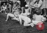 Image of baby crawling race New Jersey United States USA, 1945, second 31 stock footage video 65675072163