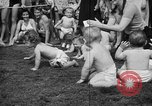 Image of baby crawling race New Jersey United States USA, 1945, second 32 stock footage video 65675072163