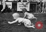 Image of baby crawling race New Jersey United States USA, 1945, second 33 stock footage video 65675072163