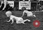 Image of baby crawling race New Jersey United States USA, 1945, second 34 stock footage video 65675072163