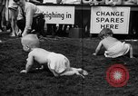 Image of baby crawling race New Jersey United States USA, 1945, second 37 stock footage video 65675072163