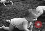 Image of baby crawling race New Jersey United States USA, 1945, second 41 stock footage video 65675072163