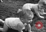 Image of baby crawling race New Jersey United States USA, 1945, second 42 stock footage video 65675072163