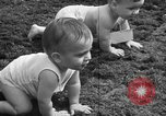 Image of baby crawling race New Jersey United States USA, 1945, second 43 stock footage video 65675072163