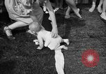 Image of baby crawling race New Jersey United States USA, 1945, second 56 stock footage video 65675072163