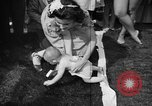 Image of baby crawling race New Jersey United States USA, 1945, second 57 stock footage video 65675072163