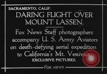 Image of Mount Lassen California United States USA, 1923, second 7 stock footage video 65675072185