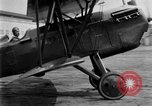 Image of Curtiss P-1Hawk Pursuit AT-4 Michigan United States USA, 1926, second 32 stock footage video 65675072198