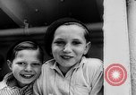 Image of war refugee children New York United States USA, 1942, second 12 stock footage video 65675072208