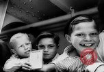 Image of war refugee children New York United States USA, 1942, second 14 stock footage video 65675072208