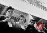 Image of war refugee children New York United States USA, 1942, second 16 stock footage video 65675072208