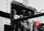 Image of war refugee children New York United States USA, 1942, second 21 stock footage video 65675072208