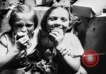 Image of war refugee children New York United States USA, 1942, second 59 stock footage video 65675072208