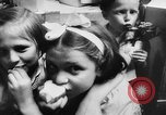 Image of war refugee children New York United States USA, 1942, second 62 stock footage video 65675072208