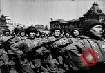 Image of victory celebration Moscow Russia Soviet Union, 1945, second 55 stock footage video 65675072216