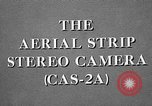 Image of CAS-2A aerial camera United States USA, 1954, second 22 stock footage video 65675072217