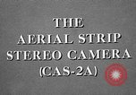 Image of CAS-2A aerial camera United States USA, 1954, second 27 stock footage video 65675072217