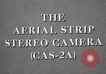 Image of CAS-2A aerial camera United States USA, 1954, second 28 stock footage video 65675072217