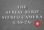 Image of CAS-2A aerial camera United States USA, 1954, second 30 stock footage video 65675072217