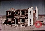 Image of Operation Cue nuclear test aftermath Nevada United States USA, 1955, second 42 stock footage video 65675072223