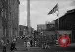 Image of traffic on crossroad New Jersey United States USA, 1946, second 17 stock footage video 65675072227