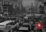Image of traffic on crossroad New Jersey United States USA, 1946, second 50 stock footage video 65675072227