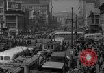 Image of traffic on crossroad New Jersey United States USA, 1946, second 51 stock footage video 65675072227