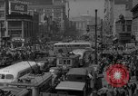 Image of traffic on crossroad New Jersey United States USA, 1946, second 52 stock footage video 65675072227