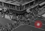 Image of traffic on crossroad New Jersey United States USA, 1946, second 53 stock footage video 65675072227