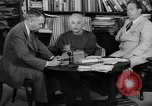 Image of Albert Einstein peaceful use of atomic power Princeton New Jersey USA, 1946, second 3 stock footage video 65675072233