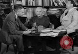 Image of Albert Einstein peaceful use of atomic power Princeton New Jersey USA, 1946, second 7 stock footage video 65675072233