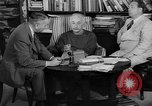 Image of Albert Einstein peaceful use of atomic power Princeton New Jersey USA, 1946, second 8 stock footage video 65675072233