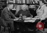 Image of Albert Einstein peaceful use of atomic power Princeton New Jersey USA, 1946, second 15 stock footage video 65675072233
