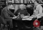 Image of Albert Einstein peaceful use of atomic power Princeton New Jersey USA, 1946, second 21 stock footage video 65675072233