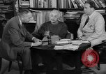 Image of Albert Einstein peaceful use of atomic power Princeton New Jersey USA, 1946, second 23 stock footage video 65675072233