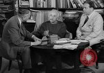 Image of Albert Einstein peaceful use of atomic power Princeton New Jersey USA, 1946, second 24 stock footage video 65675072233