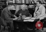 Image of Albert Einstein peaceful use of atomic power Princeton New Jersey USA, 1946, second 28 stock footage video 65675072233