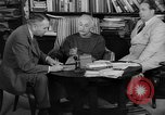 Image of Albert Einstein peaceful use of atomic power Princeton New Jersey USA, 1946, second 44 stock footage video 65675072233