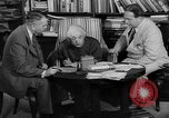 Image of Albert Einstein peaceful use of atomic power Princeton New Jersey USA, 1946, second 49 stock footage video 65675072233