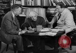 Image of Albert Einstein peaceful use of atomic power Princeton New Jersey USA, 1946, second 53 stock footage video 65675072233