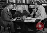 Image of Albert Einstein peaceful use of atomic power Princeton New Jersey USA, 1946, second 54 stock footage video 65675072233