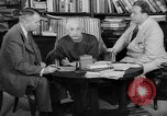 Image of Albert Einstein peaceful use of atomic power Princeton New Jersey USA, 1946, second 55 stock footage video 65675072233