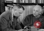 Image of Albert Einstein peaceful use of atomic power Princeton New Jersey USA, 1946, second 61 stock footage video 65675072233