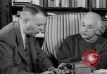 Image of Albert Einstein peaceful use of atomic power Princeton New Jersey USA, 1946, second 62 stock footage video 65675072233