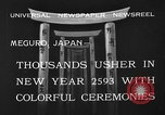 Image of large crowds Meguro Japan, 1933, second 5 stock footage video 65675072245
