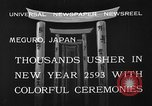 Image of large crowds Meguro Japan, 1933, second 7 stock footage video 65675072245