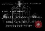 Image of Annual Cross Country Race Eton England United Kingdom, 1933, second 1 stock footage video 65675072246
