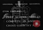 Image of Annual Cross Country Race Eton England United Kingdom, 1933, second 7 stock footage video 65675072246