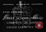 Image of Annual Cross Country Race Eton England United Kingdom, 1933, second 8 stock footage video 65675072246