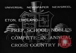 Image of Annual Cross Country Race Eton England United Kingdom, 1933, second 11 stock footage video 65675072246